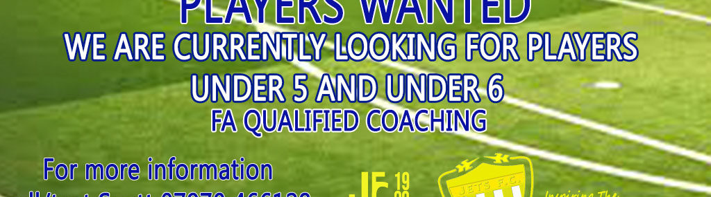 Players Wanted U5 and U6